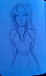 Dead Vriska in a Dress by krissyrocksoutloud
