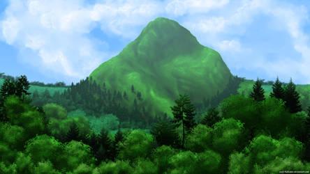 Undertale - Mount Ebott by wolf-NaKomis