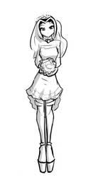 Bibi's Wedding Dress by CeleraPrime