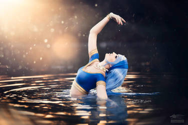 Water Goddess by Sn0wgrimm