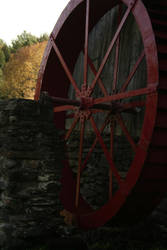 The old water wheel by GhostHorseStudio