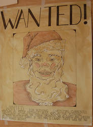 WANTED! Sketcy Santa by GhostHorseStudio