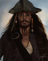 Captain Jack Sparrow by Enmie