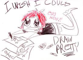 Me Draw Pretty One Day by rachelthegreat