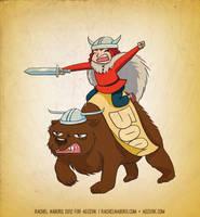 Bear Rider for Adzerk by rachelthegreat