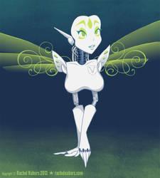 Harpy Robot by rachelthegreat