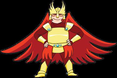 Adzerk Viking Mascot Level Up by rachelthegreat