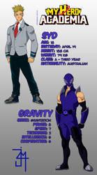 BNHA OC: Syd/Gravity by JI4M