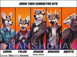 Character Species Challenge: Rikkun by thanshuhai