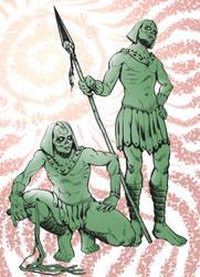 Egyptian Death Servants by KuraKaminari