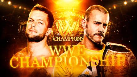 WWE Clash Of Champions Custom Match Card #FraBITW by FraBITWBashert