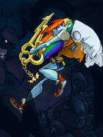 Keyblade of Loyalty by dodobirdsong