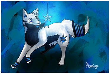 .: AT - A glowing star :. by Aluri