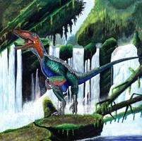 Velociraptor antirrhopus by liliensternus