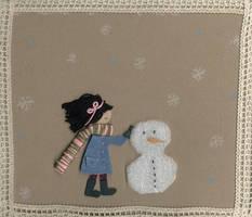 snowman by pentelka