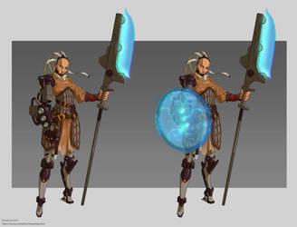 The Shieldmaiden by mercikos