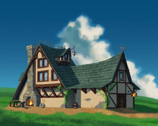Blacksmiths house by mercikos