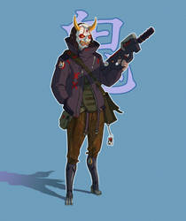 Oni gang member by mercikos