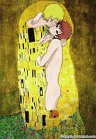 The kiss NaruGaa by Uchisuk3