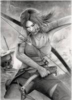 Lara Croft - Tomb Raider by PauloCarriel