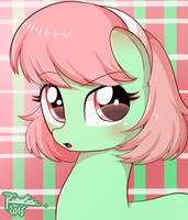 I Am green and cute, ok? by Riouku