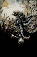Alien tribute by Daniele-Serra