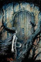 The door by Daniele-Serra
