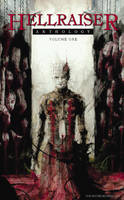 Hellraiser anthology - cover by Daniele-Serra