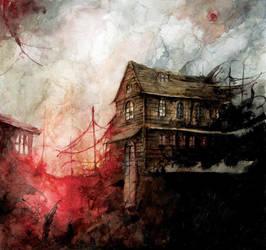 Haunted house by Daniele-Serra