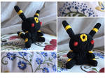 Chibi Umbreon, the Moonlight Pokemon by Geena93