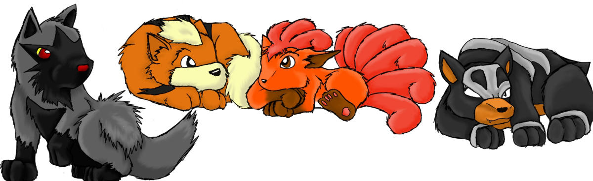 Pokemon Nap Time By Java Wolf On Deviantart
