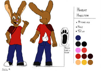 Herbert Habilton Reference | Rough #11 (Colors) by mdsd95