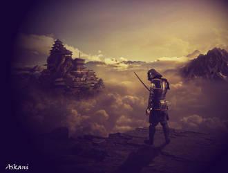 Samourai Paysage by askani12