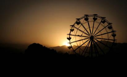 Sunset at Tatara Park by Nine80