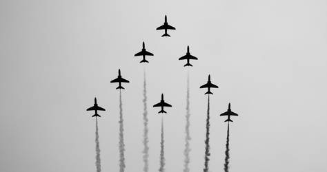 Red Arrows by Nine80