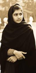 Malala Yousafzai by Nine80