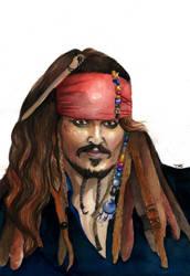 Jack Sparrow by grecioslaw