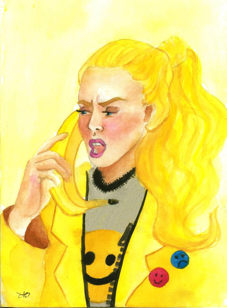 Huevember Day 2: Banana power! by grecioslaw