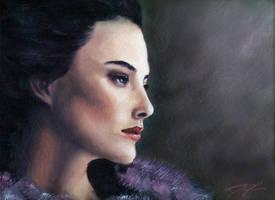 Profile of a Woman by davinci3835