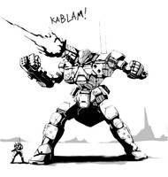 Big Gun by AzakaChi-RD-17