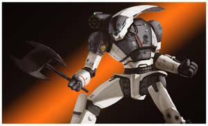 Battletech - Axeman Color by AzakaChi-RD-17
