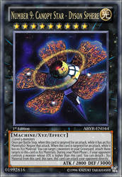 Number 9: Sky Canopy Star - Dyson Sphere by CardHunter
