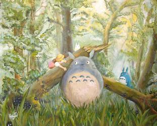 Totoro by Hakori-sanchin