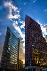 Potsdamer Platz by Puttee