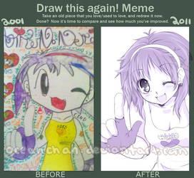 Draw This Again Meme by oceantann