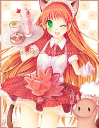 Anime North 2012 - Maid Momiji by oceantann