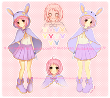 Adoptable Auction ::Lovely Bunny:: by oceantann