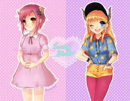 Lovely Girls by oceantann