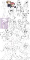 Sketch Dump 012 by oceantann