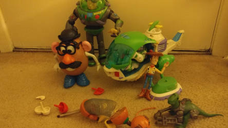 my Toy Story collection by pookiesaurus4